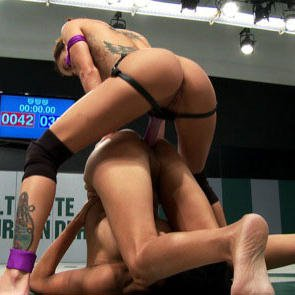 Gia Dimarco Wrestles Beretta James